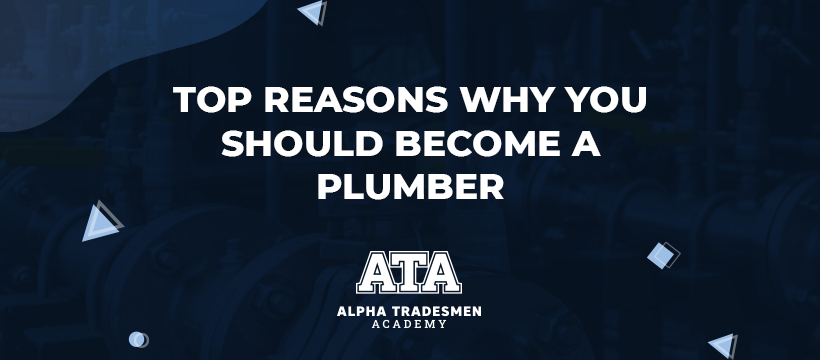 Top Reasons Why You Should Become a Plumber